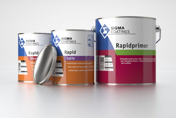 Sigma packaging of paint cans